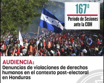 Honduras ante la CIDH en el contexto de crisis post electoral 2017-2018