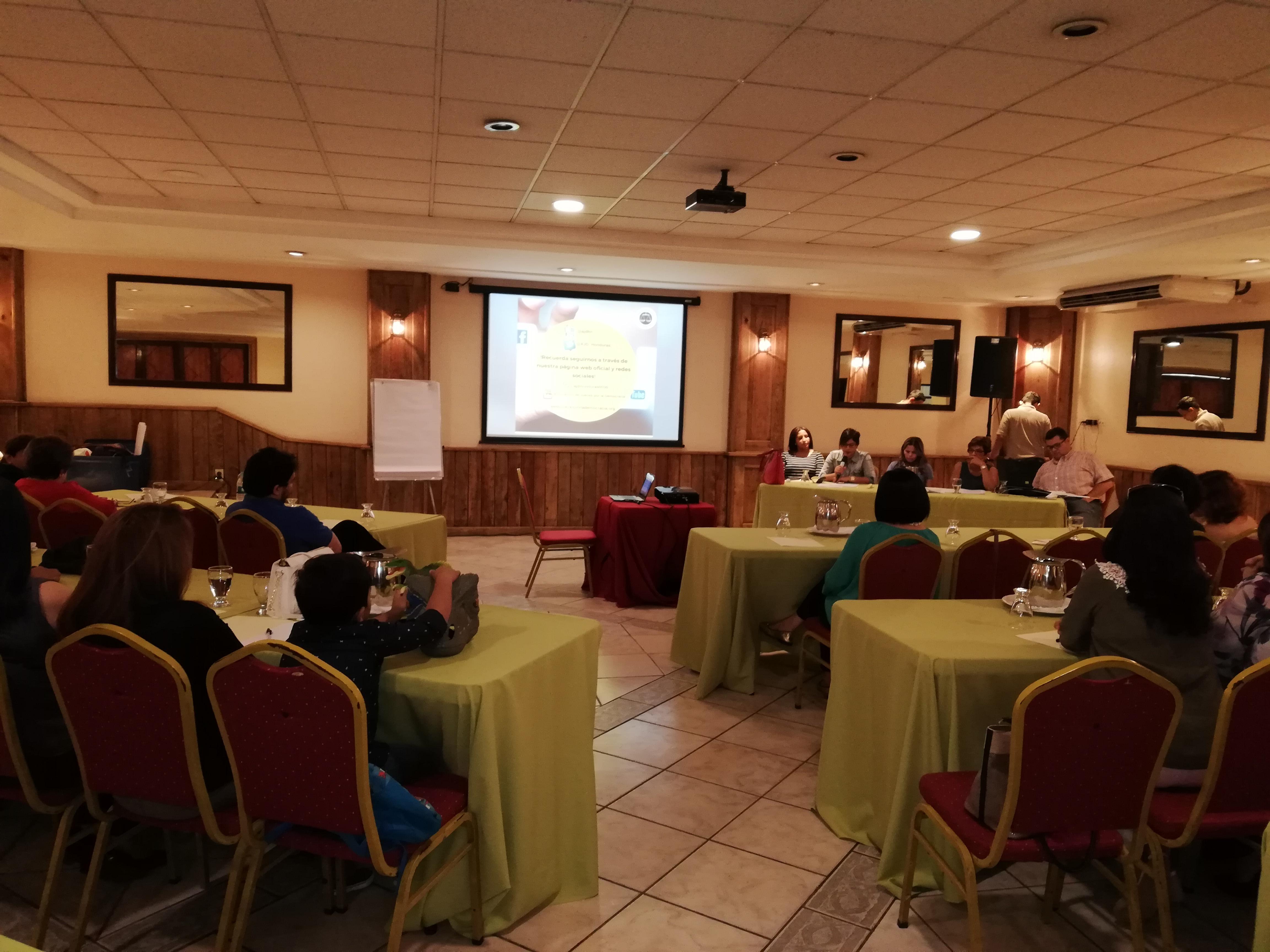 Junta Directiva de AJD rindió cuentas en Asamblea General Ordinaria