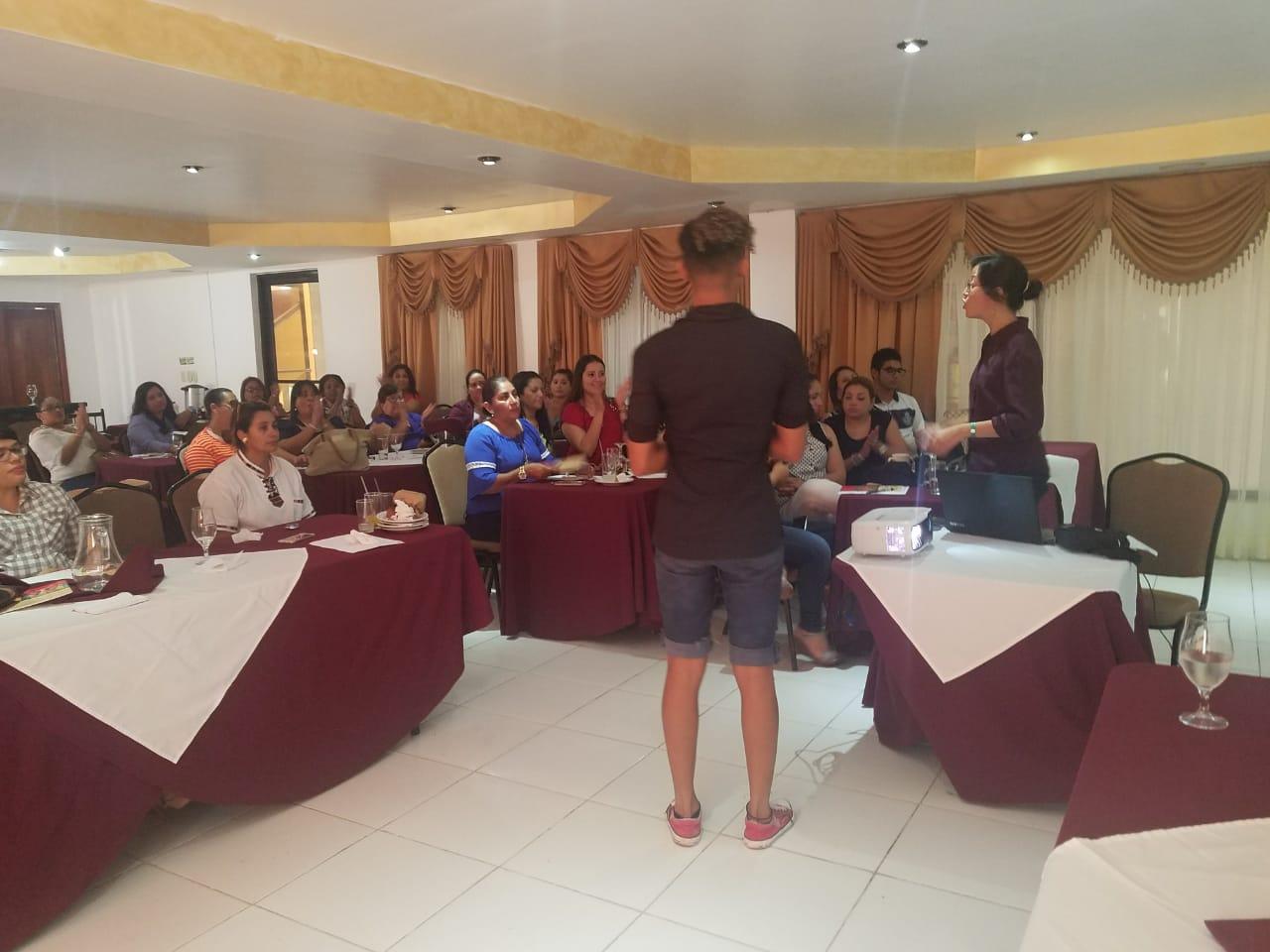AJD capacitó a personal de justicia de la ciudad de La Ceiba