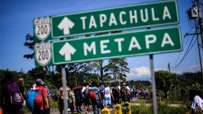 ¿Por qué la gente sale en caravanas huyendo de Honduras?