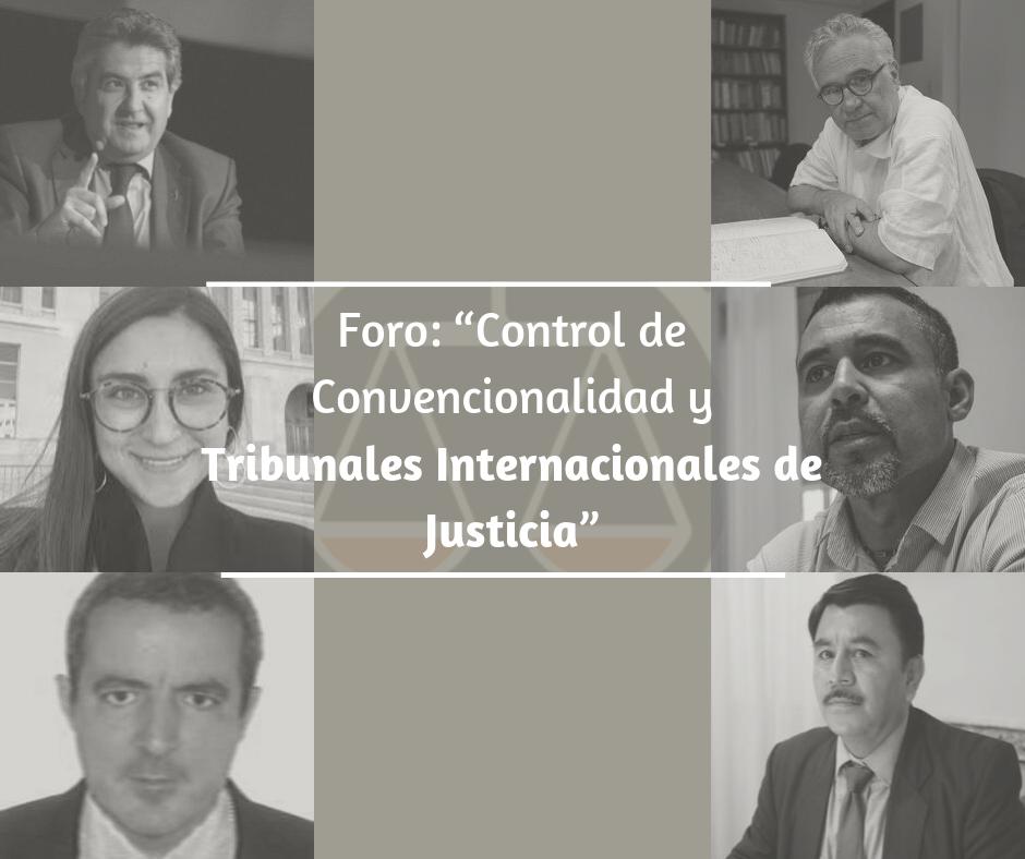 """AJD realiza foro: """"Control de Convencionalidad y Tribunales Internacionales de Justicia"""""""
