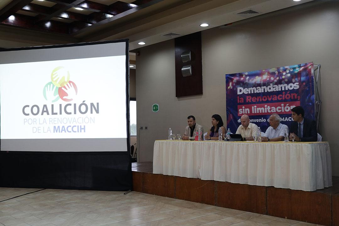 Coalición por la renovación del convenio de la MACCIH presenta campaña